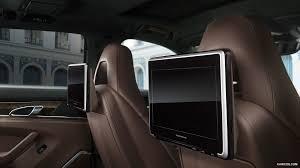 porsche panamera 2015 interior 2015 porsche panamera executive series rear seat entertainment