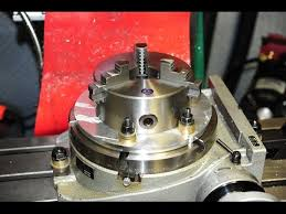 Harbor Freight Rotary Table by Mating A Chuck To A Rotary Table Youtube
