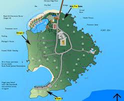 World Map Fiji by Island Map