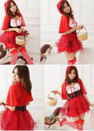 Halloween Japanese Costumes Red Japanese Red Hat Halloween Fairytale Costume