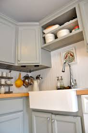 Beadboard Kitchen Backsplash by Home Design Beadboard Backsplash Butcherblock Cottage Staircase