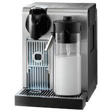 pro machine buy nespresso en750 mb lattissima pro by de longhi silver