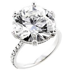 10 karat diamond ring certified 10 carat diamond ring for sale at 1stdibs