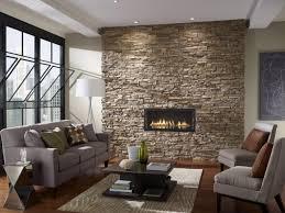 Stone Living Room Exterior Design Beige Garage Door With Eldorado Stone And