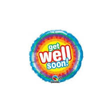 get well soon balloons delivery get well soon balloon bne delivery foil balloons delivered