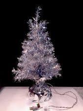 silver tinsel christmas tree tinsel tree ebay
