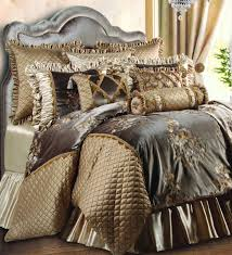 bedroom comforters and bedspreads with brown curtain and some