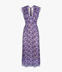 violet dress eleri dress plum lilac