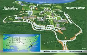 clark map quissett cus woods oceanographic institution