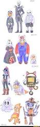 Halloween Monsters For Kids by Undertale Sans Frisk Papyrus Toriel Asgore Napstablook Miss