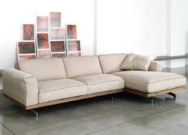 l shaped broken white fabric sectional couch which furnished with