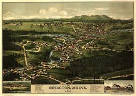 Map Of Oakland Bridgton Maine Wikipedia