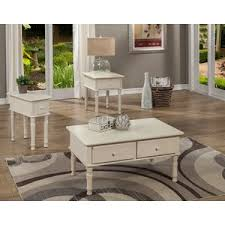 3 piece coffee table set kinsler 3 piece coffee table set by alcott hill