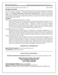 Itil Certified Resume Special Education Teacher Cover Letter Resume No Working