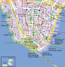 downtown manhattan map city of york york map lower manhattan map