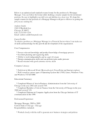 Profile Part Of A Resume 25 Qualified Mortgage Closer Resume Examples To Inspire You
