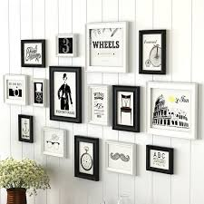 home decor wall creative blanc noir conception home decor wall hanging photo