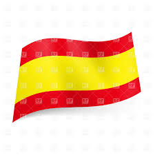 Spain Flags Icon Of National Flag Of Spain Royalty Free Vector Clip Art Image