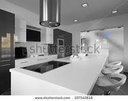 Gray Tile Kitchen - modern kitchen stock images royalty free images u0026 vectors