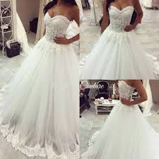 wedding dress trim beaded lace appliques gown princess wedding dresses