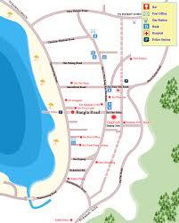 Phuket Map Patong Entertainment Map