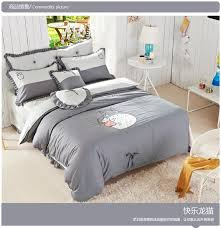 Ross Bed Sets Aliexpress Com Buy Good Quailty 100 Cotton Korean Style Totoro