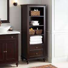 Hardware Storage Cabinet Keller Mahogany Linen Storage Cabinet Espresso Bathroom