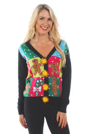 women u0027s ugly patchwork cardigan from tipsy elves holiday gift