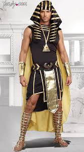 Halloween King Costume King Egypt Costume Gold Black King Egypt Costume Men U0027s