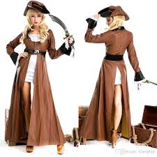 100 real shot high quality women halloween costume pirate game