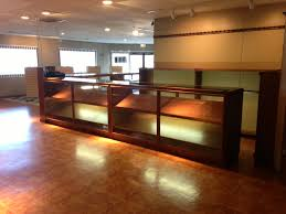 commercial gun display cases and racks by owens cabinet shop