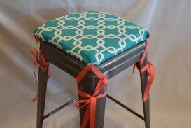 Bar Stool Seat Covers Extraordinary Bar Stool Cushion Covers Picturespirations Seat