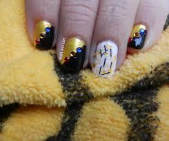nail art dscn2325 jpg pittsburgh steelers nail artsteelers art