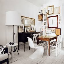 How To Mix Old And New Furniture Julianne Moore U0027s Montauk Hideout Floor Lamp Chandeliers And Woods