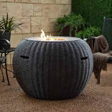 round propane fire pit table furniture propane fire pit table for different outdoor space