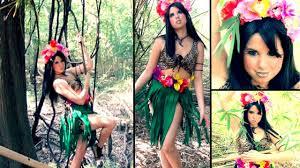 music halloween costume ideas katy perry roar music video inspired makeup u0026 diy costume youtube