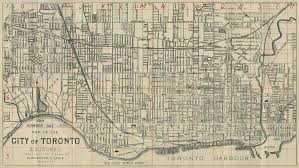 Map Of Toronto Map Of The City Of Toronto U0026 Suburbs Digital Archive Toronto