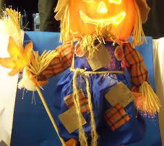 fiber optic halloween pumpkin decorations halloween harvest fiber optic pumpkin scarecrow multi color broom