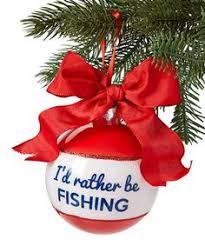 fishing ornament fish ornament fisherman ornament rodmaster