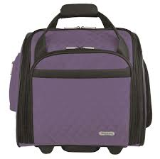 travelon wheeled underseat carry on with back up bag walmart com