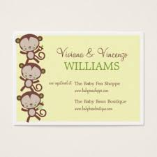 registry for baby shower baby registry business cards templates zazzle