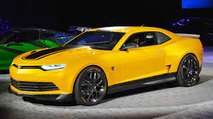 newest camaro chevy brings bumblebee transformers 4 corvette and sonic to