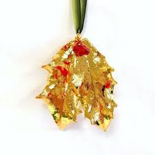 real leaf ornaments the s lair