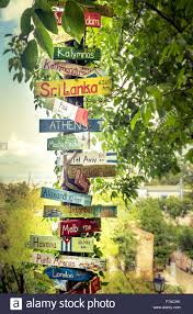 Tourist Signposting Manual Destination Nsw Signpost Of World Countries Stock Photos U0026 Signpost Of World