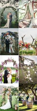 wedding arches south wales real wedding hinterland photographed
