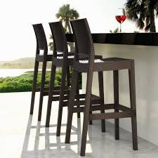 out door bar stools outdoor bar stools spice up your outdoor decor inoutinterior