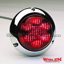 4 inch round led tail lights 4 round super led lightheads flat lens