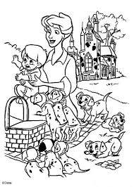 101 dalmatians coloring pages 41 free disney printables kids