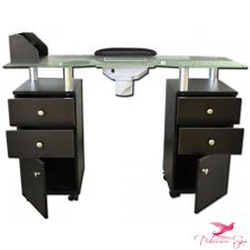manicure table with vent manicure and nail table with vacuum