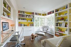 Custom Home Office Cabinets In Built In Home Office Designs Best Home Design Ideas